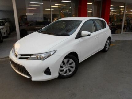2014 Toyota Corolla ZRE182R Ascent Glacier White 7 Speed CVT Auto Sequential Hatchback Allawah Kogarah Area Preview