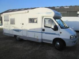 2004 ADRIA CORAL 680SP REAR FIXED BED, REAR GARAGE, LHD MOTORHOME FOR SALE