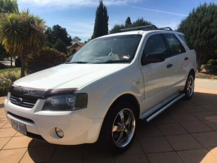 2007 Ford Territory SY Territory TX RWD - 7 SEATER with THULE