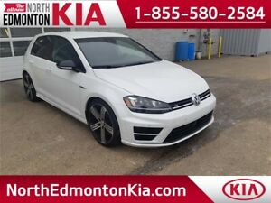 2016 Volkswagen Golf R.  **LEATHER-NAV-DSG**