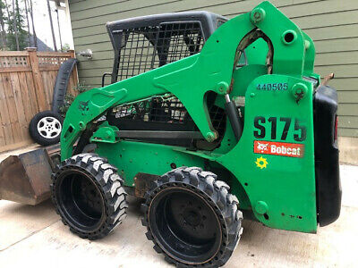 2012 Bobcat S175 Skid Steer Excellent Low Hours W Bucket Ready To Work