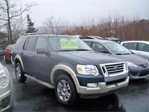 WINTER TIRES ON!!! 2010 EXPLORER EDDIE BAUER! 7 PASSENGER 4X4