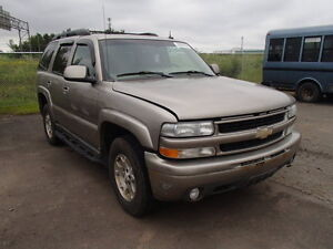 parting out 2003 chev tahoe