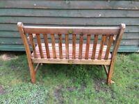 Childrens garden bench