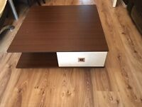 Beautiful condition REAL/strong wooden coffee table. Absoutely solid and amazing condition