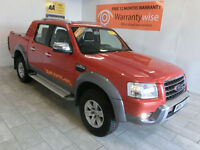 2007 Ford Ranger 3.0TDCi ( 156PS ) 4x4 Wildtrak Double Cab