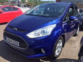 2014 automatic 1.6 ford bmax petrol! great value!