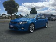 2009 Ford Falcon FG XR8 Blue 6 Speed Auto Seq Sportshift Sedan Beckenham Gosnells Area Preview