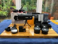 Boxed Canon Legria HFG10 Video Camera