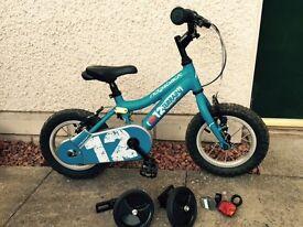 Ridgeback mx12 12 inch kids bike (blue)