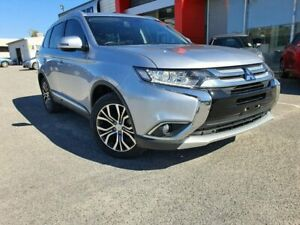 2016 Mitsubishi Outlander ZK MY16 XLS 4WD Silver 6 Speed Sports Automatic Wagon Osborne Park Stirling Area Preview