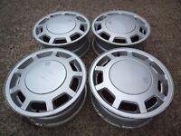 Volkswagen Golf GTi mk1/2 alloy wheels with VW centre cap