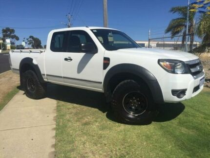 2010 Ford Ranger PK XL Super Cab White 5 Speed Manual Utility Wangara Wanneroo Area Preview
