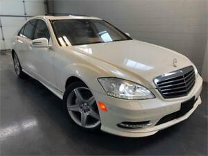 2011 Mercedes-Benz S-Class S 450 AMG Package Navigation Sunroof