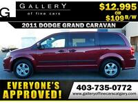 2011 Dodge Grand Caravan SXT $109 bi-weekly APPLY NOW DRIVE NOW