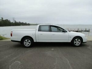 2004 Holden Crewman VY II White 4 Speed Automatic Crew Cab Utility Dapto Wollongong Area Preview