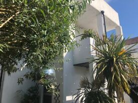 Spacious 1 bed garden flat West Hove with spanish style sun terrace - by Portslade Station
