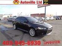 2011 Mitsubishi Lancer Ralliart AWD TURBO EVERYONE APPROVED!!!