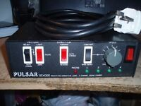 PULSAR SC4000 DISCO LIGHT CONTROLLER -TOP CLASS PRO UNIT- 4 CHANNEL !!!!