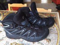 UK Size 10 Solomon X Ultra Hiking/Trail Boots
