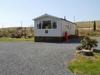 Swift Burgundy static caravan 2009 32x12 located at Glentrool in Dumfries and Galloway