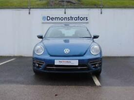 Volkswagen Beetle DESIGN TSI BLUEMOTION TECHNOLOGY DSG (blue) 2017-12-21