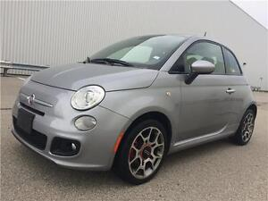 2015 FIAT 500 Sport with Leather, Alloys - S O L D