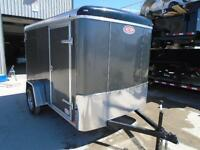 ENCLOSED TRAILER SALE - IN STOCK, PRICED TO SELL ATLAS 6 X 10'