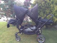 Obaby Zoom Tandem Double Buggy