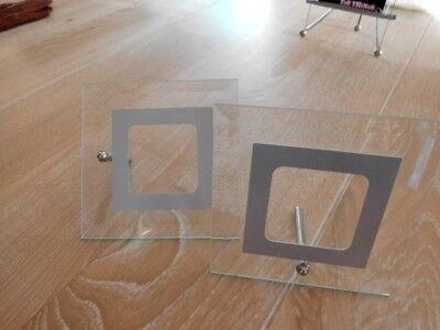 glasbilderrahmen gebraucht kaufen nur 4 st bis 75. Black Bedroom Furniture Sets. Home Design Ideas