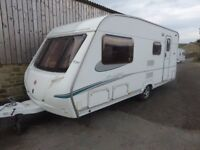 Abbey Archway 520, 17ft end bathroom, 4 berth,motor mover,high quality van.
