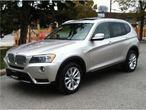 2013 BMW X3 35i EXECUTIVE PKG |NAVI|PANO|HEADS UP|NO ACCIDENTS