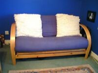Kyoto 2 Seater Sofabed, Excellent Condition