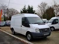 2009 FORD TRANSIT 2.4 TDCi 350 MWB High Roof Duratorq NO VAT AIR CON