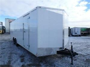 8.5 x 24 E-Series Cargo Trailer - HD Ramp + 9,900# GVWR! TAX IN!