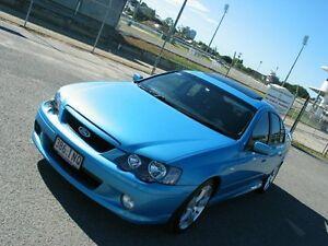 2005 Ford Falcon BA MkII XR6 Blue 4 Speed Auto Seq Sportshift Sedan Albion Brisbane North East Preview