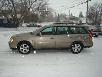 2004 Subaru Outback, Saftied, Etested and 36,000km Warranty