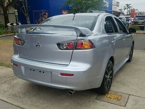 2015 Mitsubishi Lancer CJ MY15 ES Sport Silver 6 Speed CVT Auto Sequential Sedan Five Dock Canada Bay Area Preview