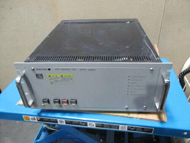 Seiko Seiki SCU-H600 Turbo Molecular Pump Control Unit, STP, STP-H600, 452137