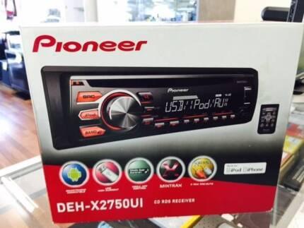 Pioneer Ipod Car Pioneer Deh-x2750ui Car Stereo