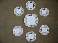 Decorative Plates by BAJ & Sons, Staffordshire