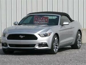 2015 Ford Mustang PREMIUM CONVERTIBLE ECOBOOST CUIR/NAV/MAG