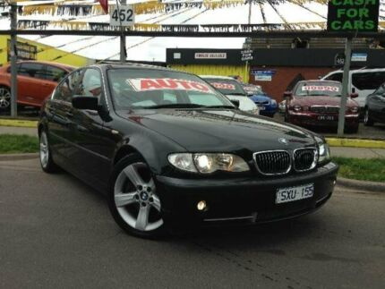 2003 BMW 330I E46 Black 5 Speed Auto Steptronic Sedan West Footscray Maribyrnong Area Preview