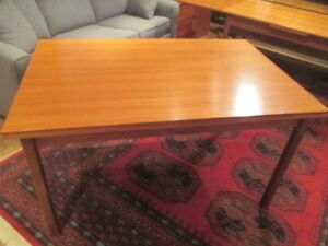 Large MCM Teak Dining Table Made in Denmark