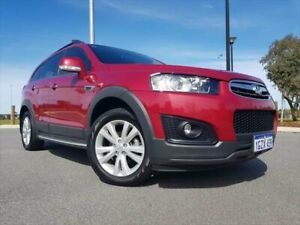 2015 Holden Captiva CG MY15 7 AWD LT Velvet Red 6 Speed Sports Automatic Wagon Kenwick Gosnells Area Preview