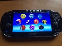 PS VITA (WITH 8gb MEMORY CARD)