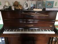 Upright Piano B.Squire and Son London