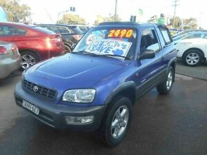 1998 Toyota RAV4 SXA10R Cruiser (4x4) Purple 5 Speed Manual 4x4 Cabriolet Greenacre Bankstown Area Preview