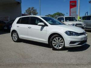 2017 Volkswagen Golf 7.5 MY18 110TSI DSG Trendline White 7 Speed Sports Automatic Dual Clutch Morley Bayswater Area Preview