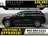 2014 JEEP GRAND CHEROKEE 4X4 *EVERYONE APPROVED* $0 DOWN $239/BW